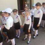 Ура, Ура, Ура! Мы выступали в составе сводного хора на площади Пушкина